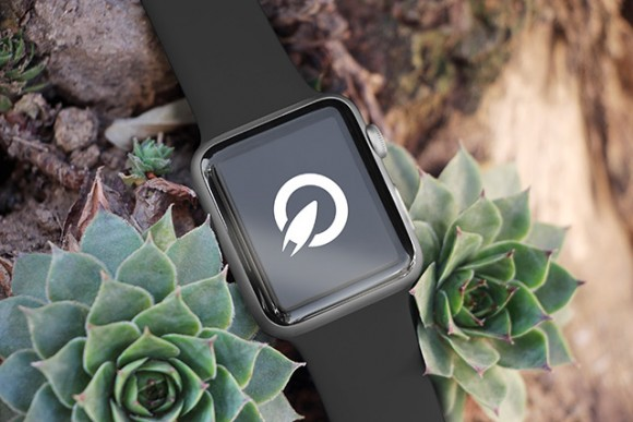 35 Apple Watch PSD mockups - Sample 3