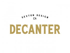 Decanter: A free all caps display serif font