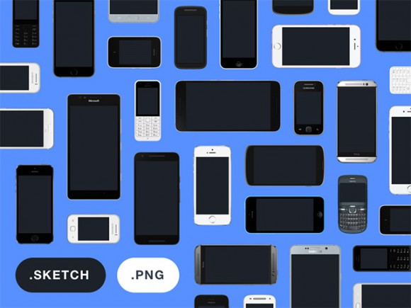 Mockup device collection by Facebook