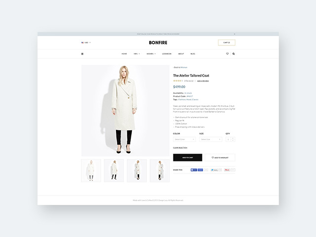 bonfire  free ecommerce product page template