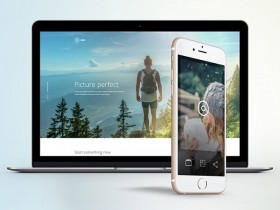 Take: Landing page template for apps