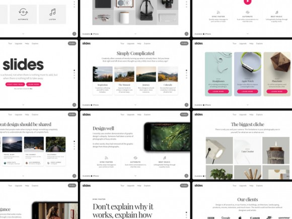 Slides 2: A free huge pack of design resources