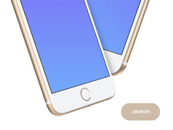 White iPhone mockups