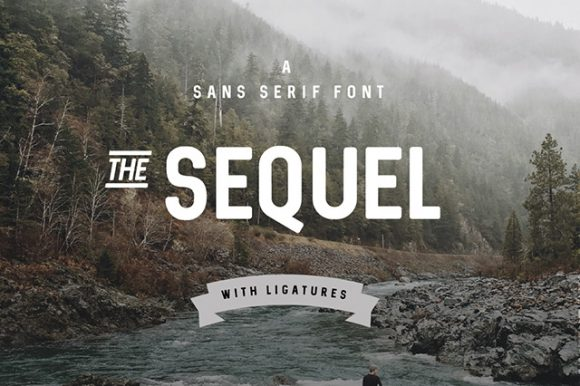Sequel Free Font - Example 01