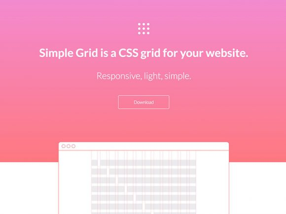 Simple Grid: Lightweight and responsive CSS grid - Freebiesbug