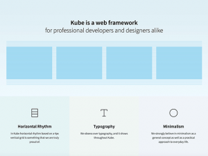 Kube: Web framework for developers and designers