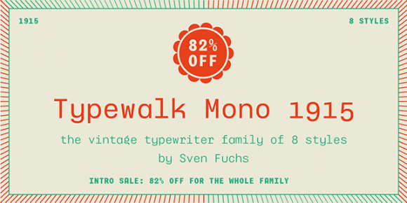 Typewalk Mono 1915 - Preview 01
