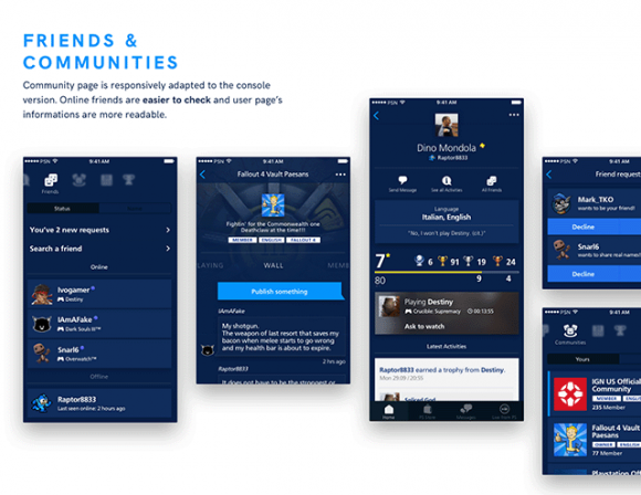 Playstation app redesign - Preview 05