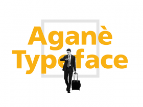 Aganè: A free font designed for UIs