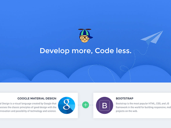 Propeller: CSS framework based on Google Material and Bootstrap