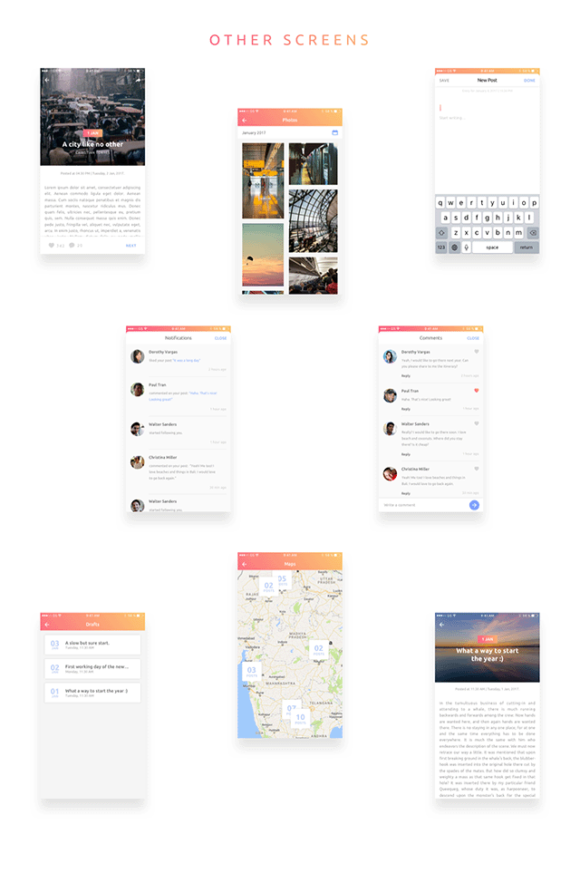 Everyday app concept - Preview 03
