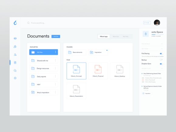 Ooto A Free Dashboard Template For Sketch Freebiesbug - Board dashboard template