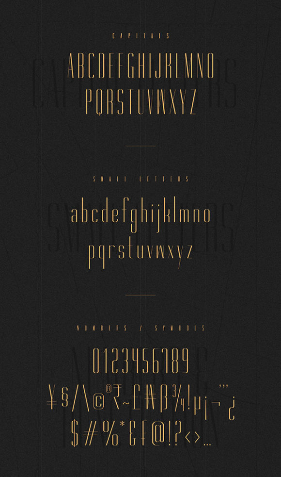 Gorgeous font - Preview 03
