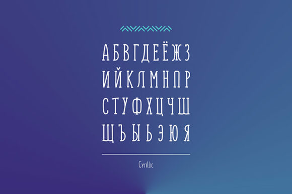 Monly font: Cyrillic support