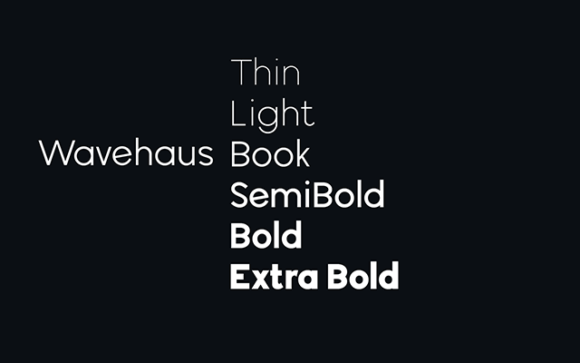 Wavehaus Sans Weights