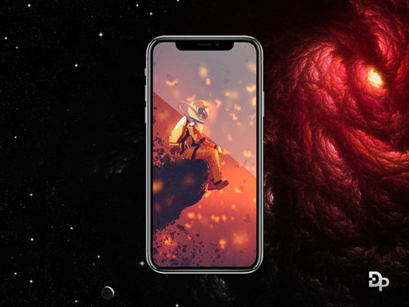 iPhone X Mockup Dual Pixel