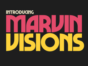 Marvin Visions: A free, bold, uppercase font
