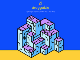 Draggable: A lightweight drag & drop JS library