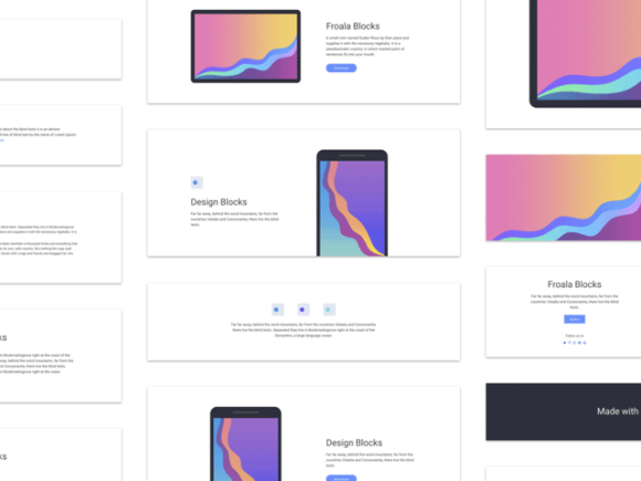 Design Blocks: 170+ HTML components