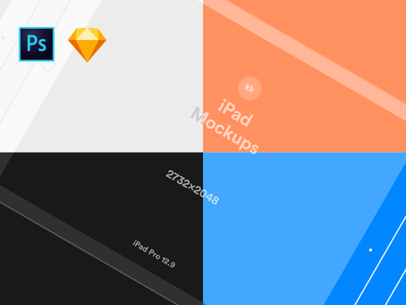 iPhone & iPad vector mockups