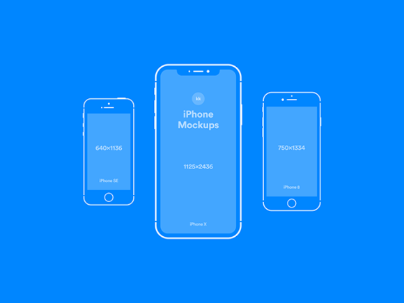 iPhone blue version