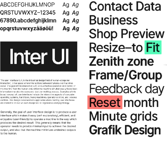Inter UI: A free font for highly legible text - Freebiesbug
