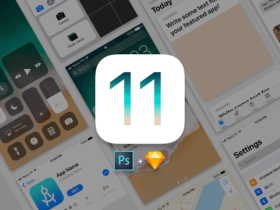 Free iOS 11 UI kit for Photoshop & Sketch
