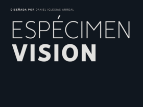 Vision: A free geometric & humanist typeface
