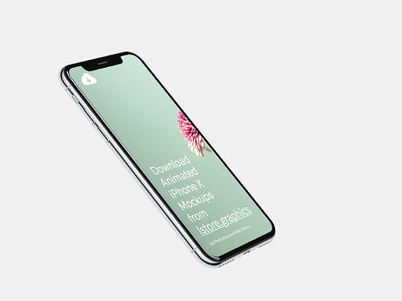 iPhone X mockup 4k - Preview 03