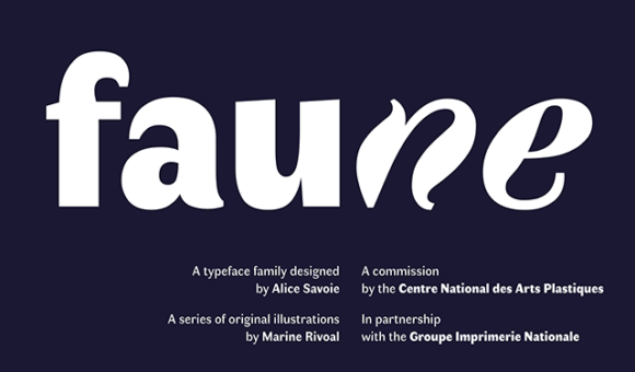 Faune font preview 01