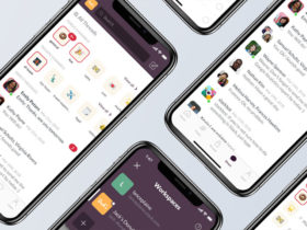 Slack iPhone UI redesign concept