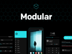 Modular: A free Android UI kit for Framer