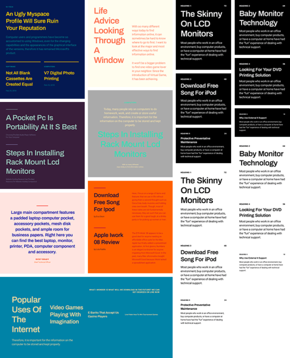 Font Combinations Library - Sample 02