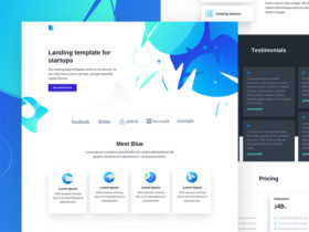 Free HTML Website Templates - Freebiesbug