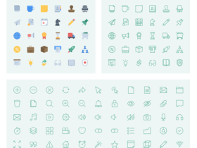 Essentials icon pack, from InVision