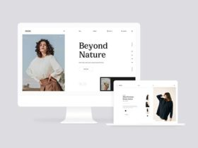 MI Fashion: Website design for fashion stores
