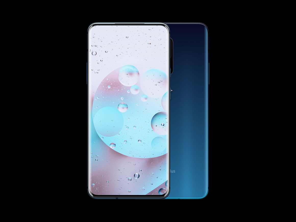 OnePlus 7 Pro mockups released by Yudiz