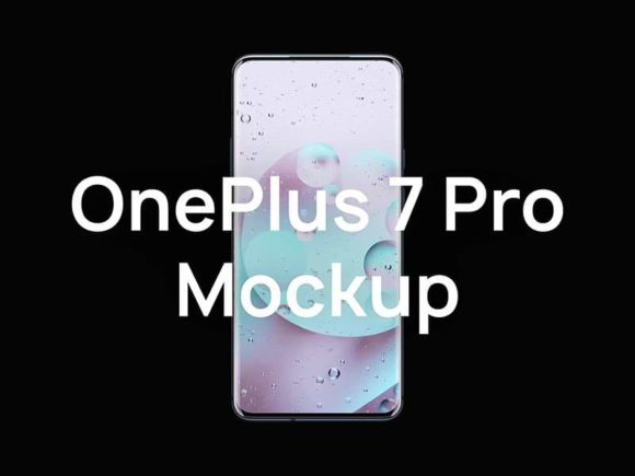 OnePlus 7 Pro mockups collection