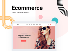Silon: Free PSD and HTML ecommerce template