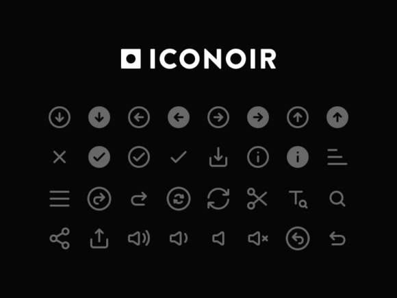 Iconoir: Free basic icon pack