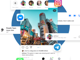 Mobile Apps Library: 120+ UIs from 4 social apps