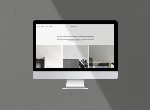 Arizona HTML template preview