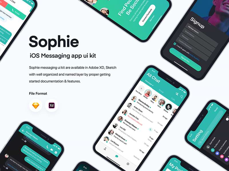 https://cdn.freebiesbug.com/wp-content/uploads/2020/03/sophie-chat-ui.jpg