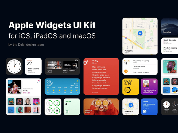 iOS 14 Widgets preview