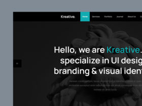 Kreative: Free HTML template for agencies