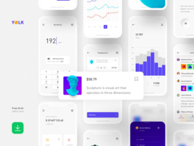 Yolk: Free iOS UI kit (42 screens)