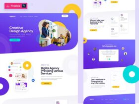 Creative Design Agency template