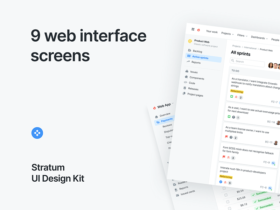 Stratum: UI kit for Figma