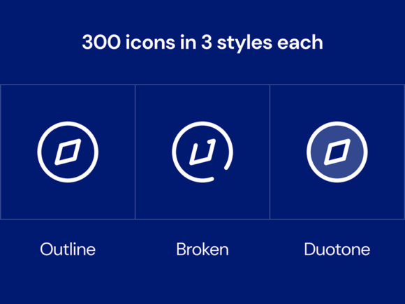 Styles of SWM Icons