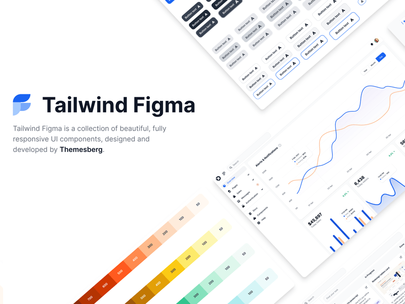 Figma design kit for Tailwind CSS